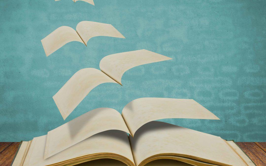 Ohne uns Buchbinder müsstet ihr eure Romane auf losen Papierseiten lesen.