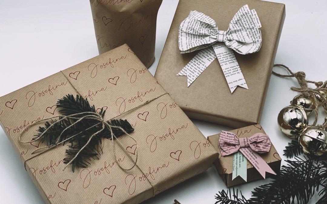 Geschenke nachhaltig einpacken