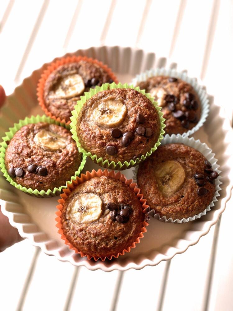 Schoko Banana-Bread Muffins