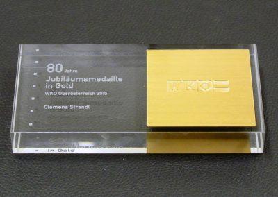 80-jährige Jubiläums-Medaille