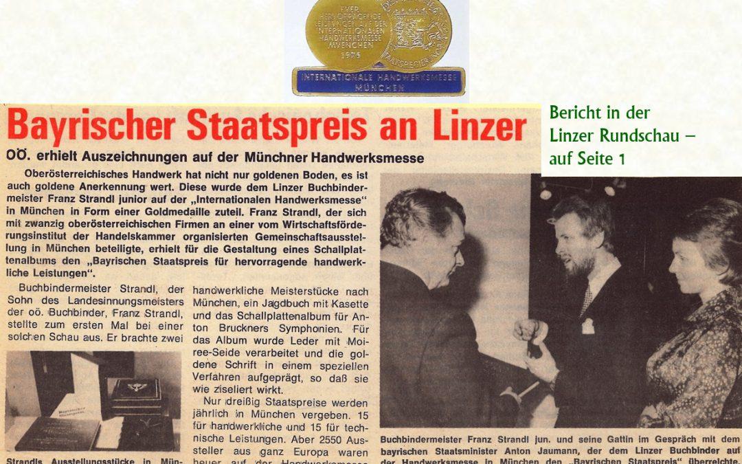Bayrischer Staatspreis