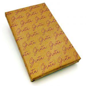 Geschenkpapier personalisiert