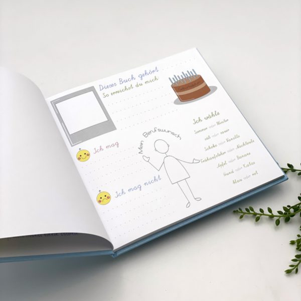 Freundebuch für Kinder