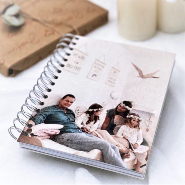Kalender Notizbuch mit Foto oder Grafik