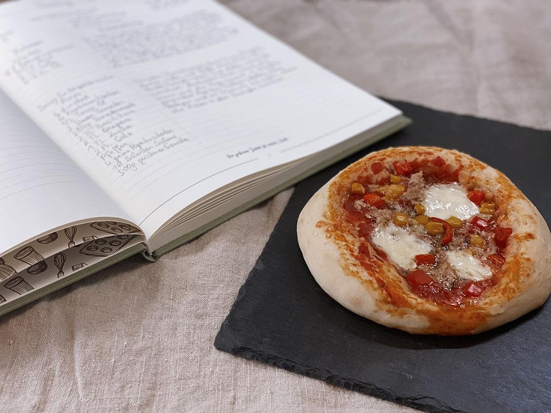 Rezept für luftig lockeren Pizzateig