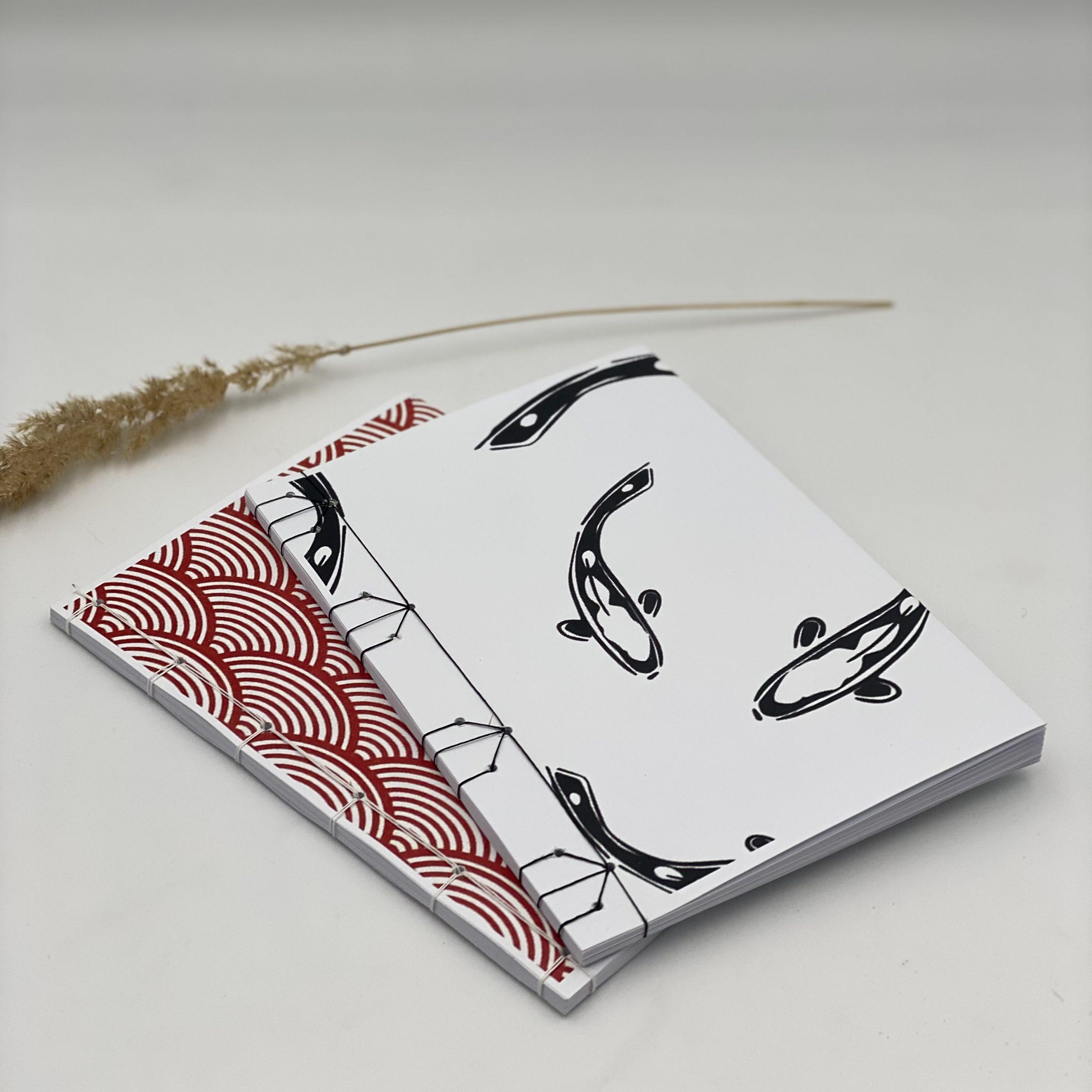 Japanisches Heft binden